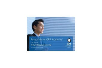 CPA Australia Strategic Management Accounting - Passcards