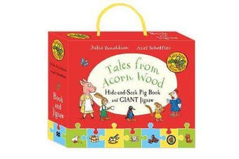 Tales from Acorn Wood - Hide-and-Seek Pig Book and Jigsaw Set