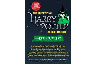 The Unofficial Harry Potter Joke Book 4-Book Box Set - Includes Great Guffaws for Gryffindor, Stupefying Shenanigans for Slytherin, Howling Hilarity for Hufflepuff, and Raucous Jokes and Riddikulus Riddles for Ravenclaw!