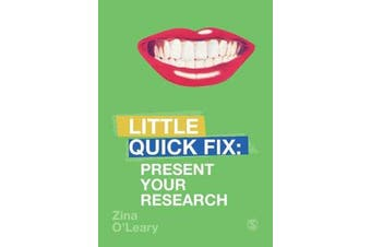 Present Your Research - Little Quick Fix