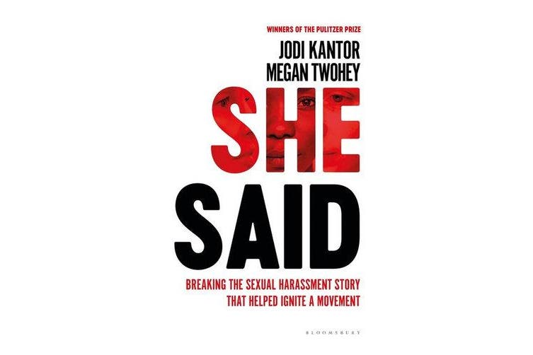 She Said - The New York Times bestseller from the journalists who broke the Harvey Weinstein story