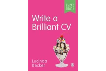 Write a Brilliant CV