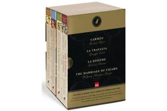 Black Dog Opera Library Box Set - Includes La Boheme, Carmen, La Traviata and The Marriage of Figaro