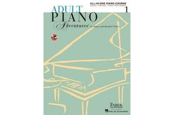 Faber Piano Adventures - Adult Piano Adventures All-in-One - Lesson Book 1