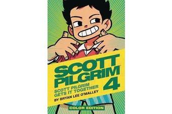 Scott Pilgrim Color Hardcover Volume 4 - Scott Pilgrim Gets it Together
