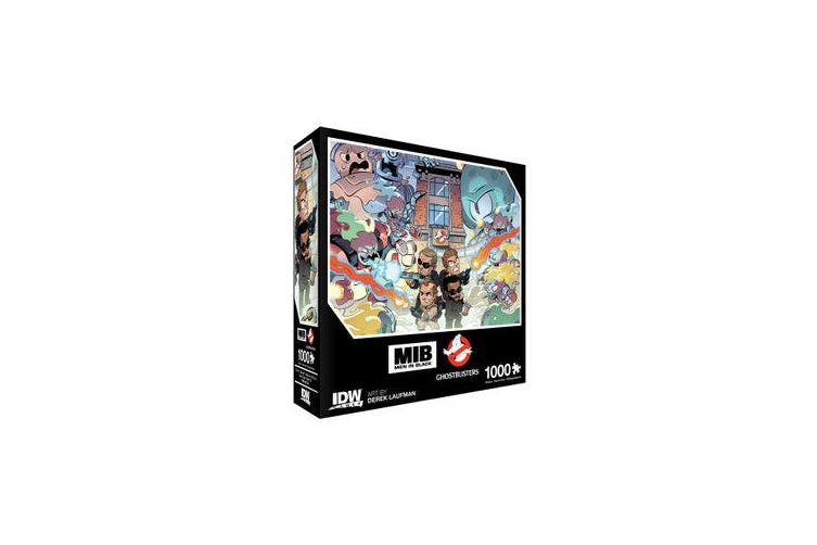 Men In Black/Ghostbusters - Ecto-terrestrial Invasion Premium Puzzle: 1000 piece