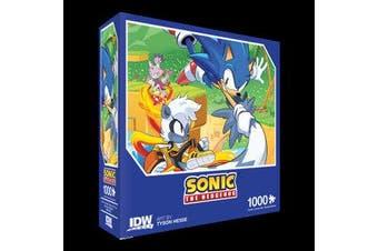 Sonic The Hedgehog - Too Slow! Premium Puzzle: 1000 piece