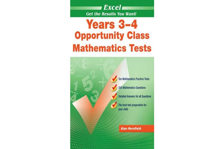Excel Opportunity Class Mathematics Tests
