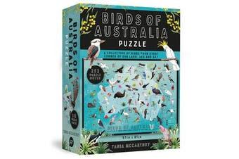 Birds of Australia Puzzle - 252-Piece Jigsaw Puzzle