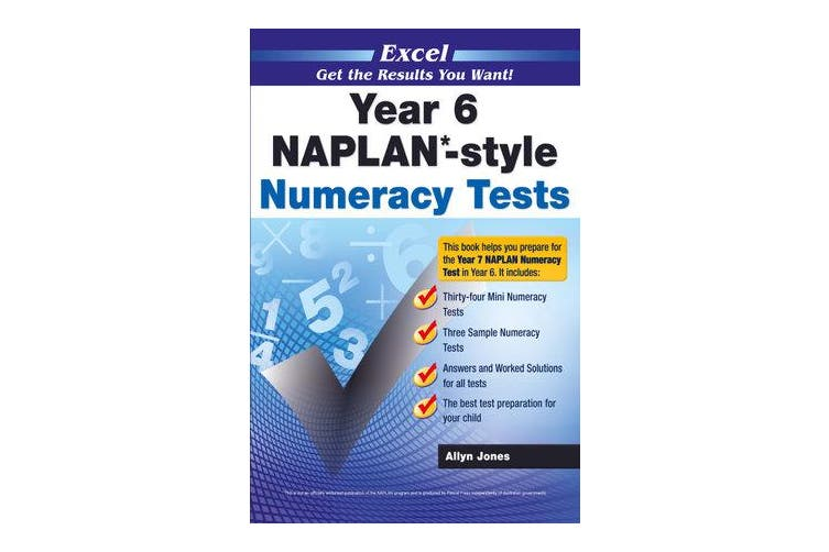 Naplan* Style Numeracy TST Yr 6