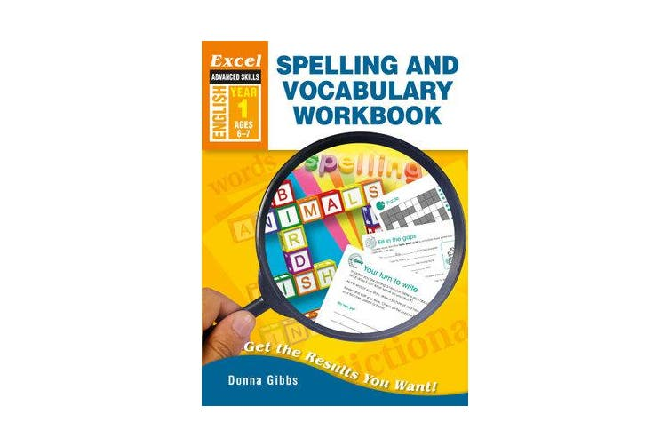 Excel Adv Spelling and VOC Yr 1