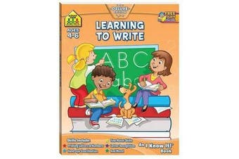 Learning to Write - I Know It Workbooks