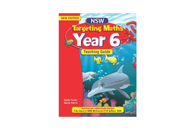 NSW Targeting Maths - Australian Curriculum Edition: Year 6 Teaching Guide