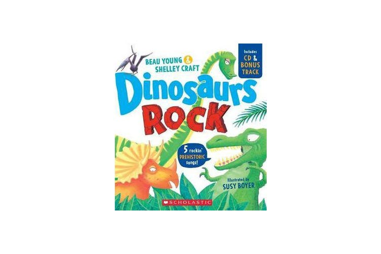 Dinosaurs Rock + CD