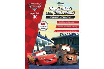 Disney Cars - How to Read and Understand Learning Workbook Level K