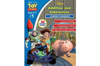 Disney Toy Story - Addition and Subtraction Learning Workbook Level 1