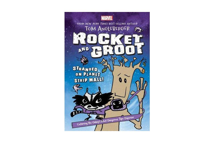 Marvel Rocket and Groot #1 - Stranded on Planet Strip Mall!