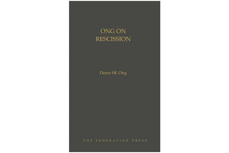 Ong on Rescission