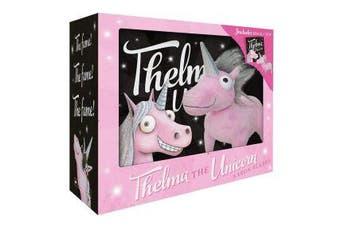 Thelma the Unicorn Mini Book + Plush
