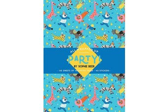 Party! by Sophie Beer - A Wrapping Paper Book