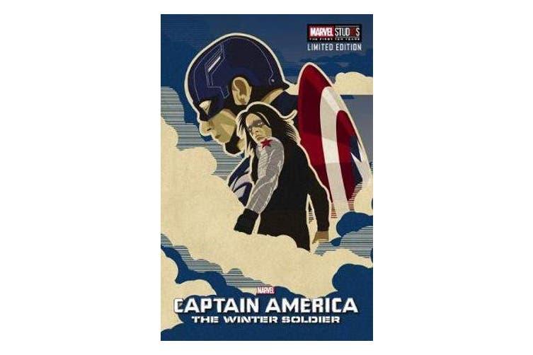 Marvel - Captain America The Winter Soldier Movie Novel