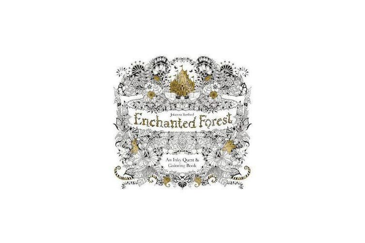 Enchanted Forest - An Inky Quest & Colouring Book