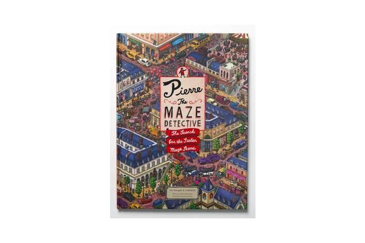 Pierre the Maze Detective - The Search for the Stolen Maze Stone