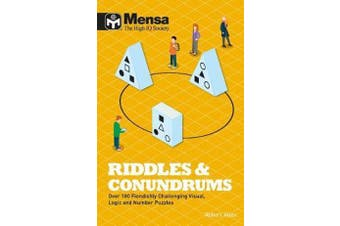 Mensa - Riddles & Conundrums - Over 100 visual, logic and number puzzles