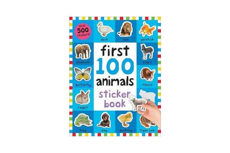 First 100 Animals Sticker Book - First 100 Stickers