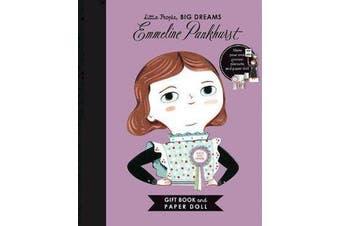 Little People, BIG DREAMS - Emmeline Pankhurst Book and Paper Doll Gift Edition Set
