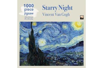 Adult Jigsaw Puzzle Van Gogh: Starry Night - 1000-piece Jigsaw Puzzles