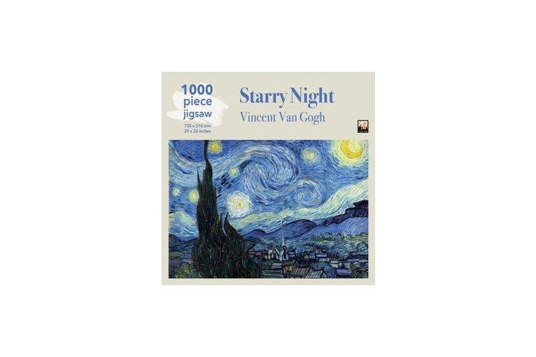 Adult Jigsaw Puzzle Van Gogh: Starry Night - 1000-piece Jigsaw Puzzles