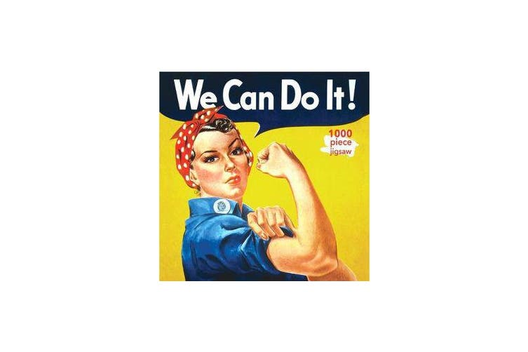 Adult Jigsaw Puzzle J Howard Miller: Rosie the Riveter Poster - 1000-piece Jigsaw Puzzles