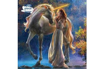 Adult Jigsaw Puzzle Sophia and the Unicorn by Elena Goryachkina - 1000-piece Jigsaw Puzzles