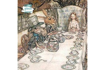 Adult Jigsaw Puzzle Arthur Rackham: Alice in Wonderland Tea Party - 1000-piece Jigsaw Puzzles
