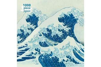 Adult Jigsaw Puzzle Hokusai: The Great Wave - 1000-piece Jigsaw Puzzles