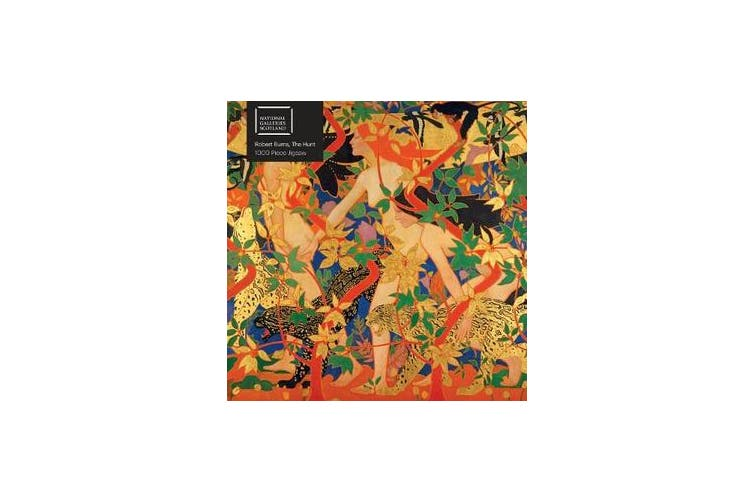 Adult Jigsaw Puzzle National Galleries Scotland: Robert Burns, The Hunt - 1000-piece Jigsaw Puzzles