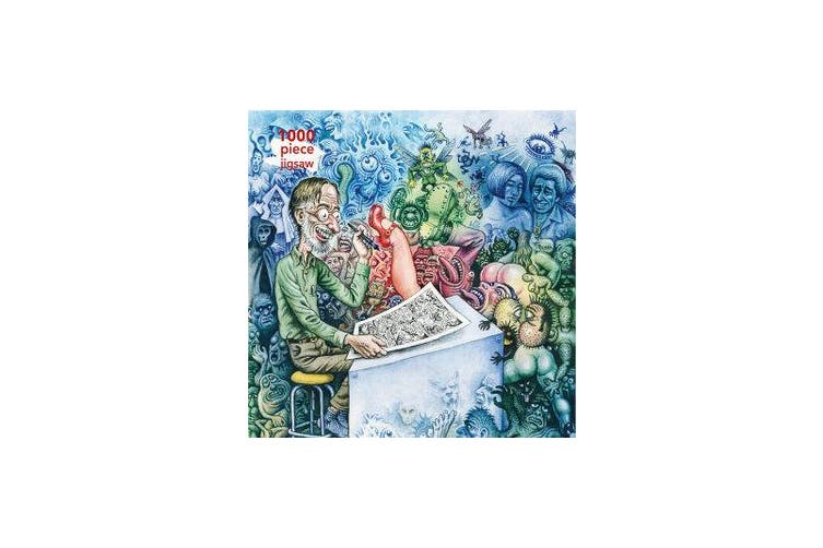 Adult Jigsaw Puzzle R. Crumb: Who's Afraid of Robert Crumb? - 1000-piece Jigsaw Puzzles