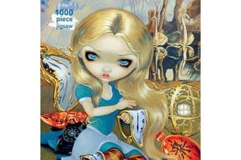 Adult Jigsaw Puzzle Jasmine Becket-Griffith: Alice in a Dali Dream - 1000-piece Jigsaw Puzzles