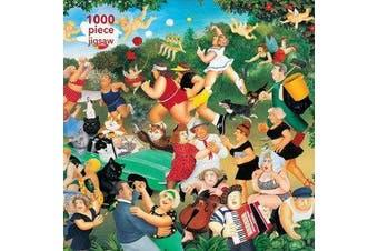 Adult Jigsaw Puzzle Beryl Cook: Good Times - 1000-piece Jigsaw Puzzles