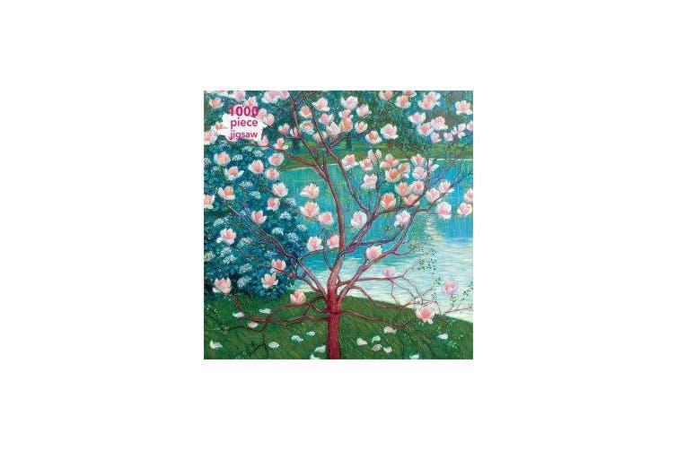Adult Jigsaw Puzzle Wilhelm List: Magnolia Tree - 1000-piece Jigsaw Puzzles