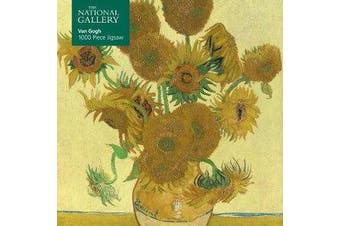Adult Jigsaw Puzzle National Gallery: Vincent Van Gogh, Sunflowers - 1000-piece Jigsaw Puzzles