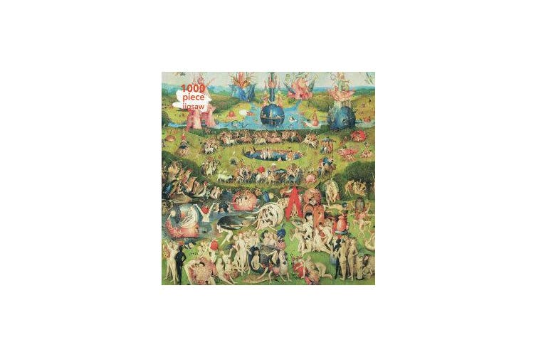 Adult Jigsaw Puzzle Hieronymus Bosch: Garden of Earthly Delights - 1000-piece Jigsaw Puzzles
