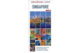 Insight Guides Flexi Map Singapore