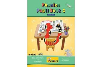 Jolly Phonics Pupil Book 3 - in Print Letters (British English edition)