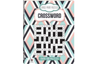 Large Print Puzzles - Crossword (Series 4)