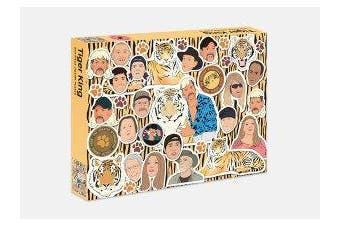 The Tiger King Puzzle - 500 piece jigsaw puzzle
