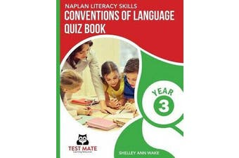 NAPLAN LITERACY SKILLS Conventions of Language Quiz Book Year 3