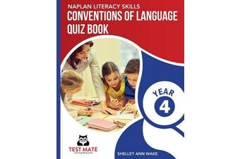 NAPLAN LITERACY SKILLS Conventions of Language Quiz Book Year 4