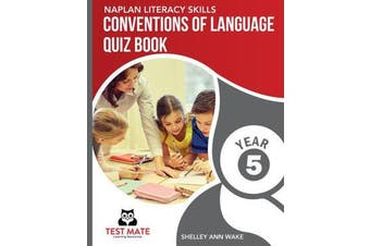 NAPLAN LITERACY SKILLS Conventions of Language Quiz Book Year 5